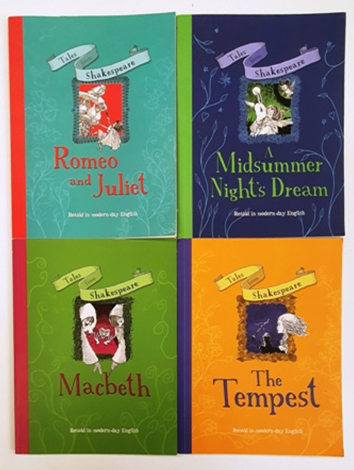 Tales from Shakespeare: Retold in modern-day English (4 Book Collection)