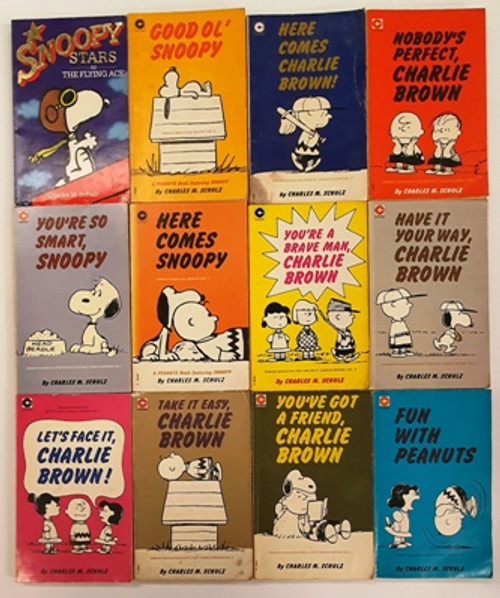 Charles M. Schulz: Charlie Brown, Peanuts and Snoopy (23 Book Collection) Circa 1975