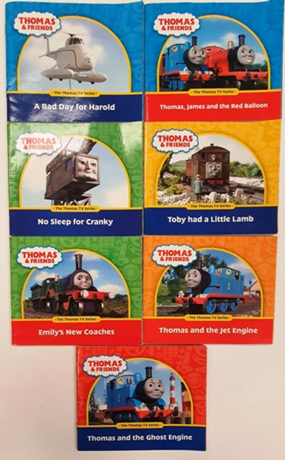 Thomas & Friends: The Thomas TV Series (7 Book Collection)