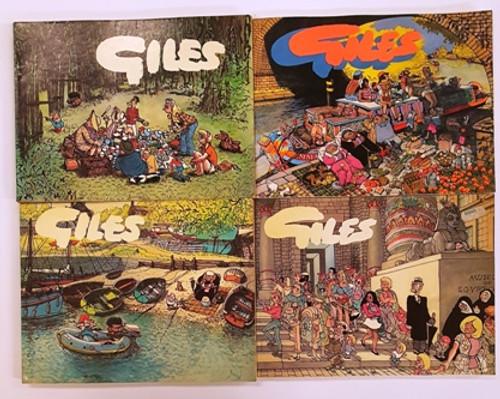 Giles: Sunday Express & Daily Express Cartoons (13 Book Collection)