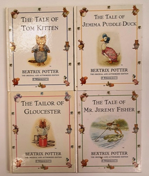 Beatrix Potter: F. Warne & Co (7 Book Collection)