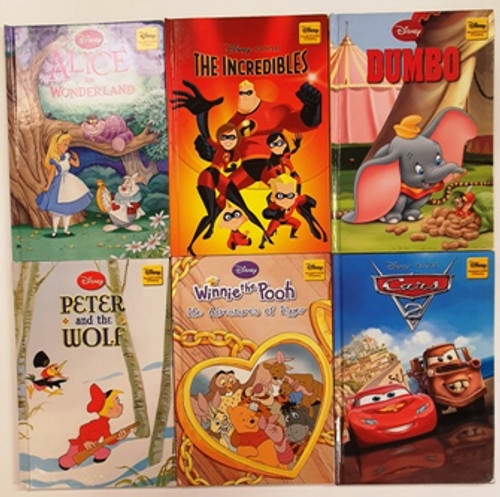 Disney Wonderful World of Reading (35 Book Collection)