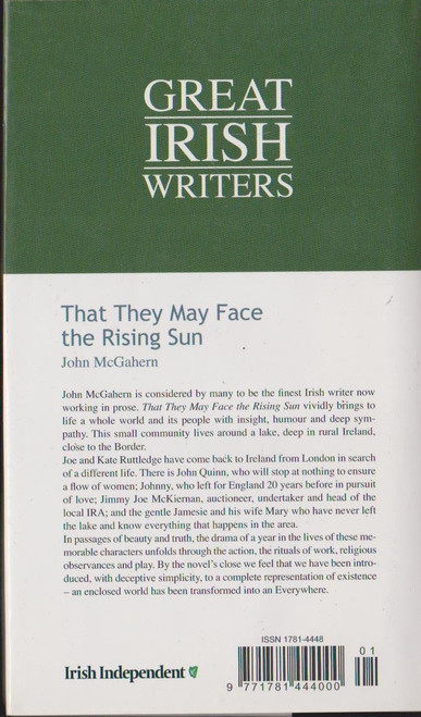 McGahern, John / That They May Face the Rising Sun