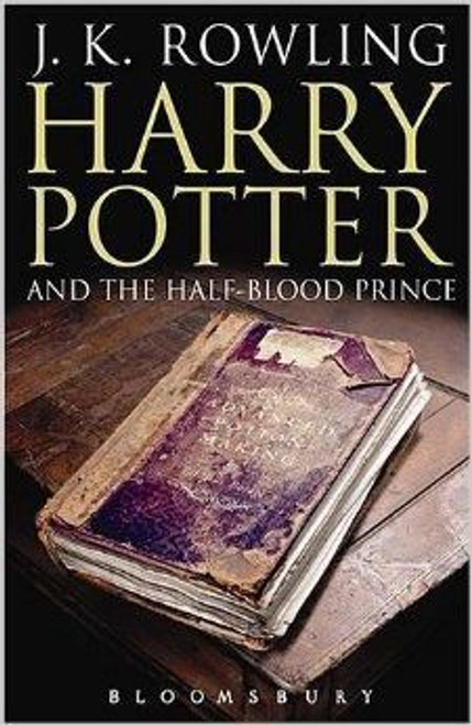 """Rowling, J.K / Harry Potter and the Half-Blood Prince """"Eleven Owls"""" Mistake: Adult Edition (First Edition Hardback)"""