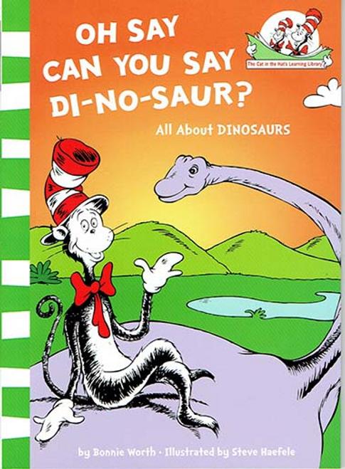 Dr. Seuss / Oh Say Can You Say Di-no-saur? (Large Paperback)