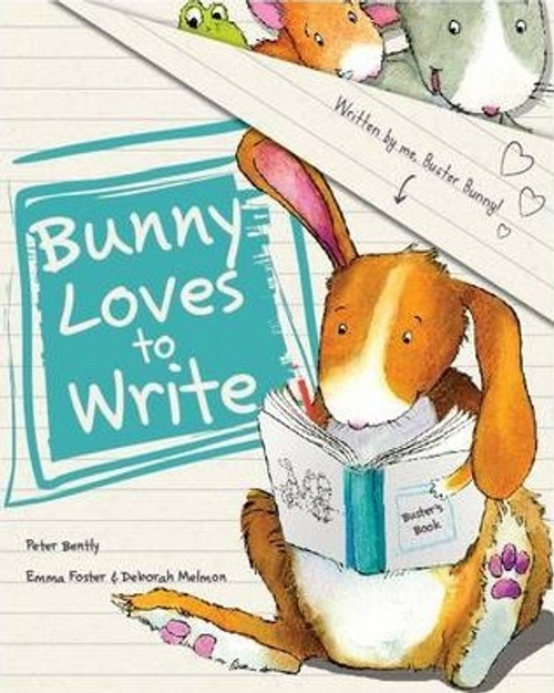 Bently, Peter / Bunny Loves to Write (Children's Picture Book)