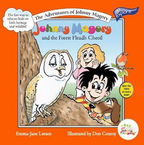 Leeson, Emma-Jane / Johnny Magory and the Forest Fleadh Cheoil (Children's Picture Book)
