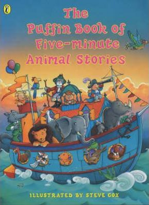 Cox, Steve / The Puffin Book of Five-minute Animal Stories (Children's Picture Book)