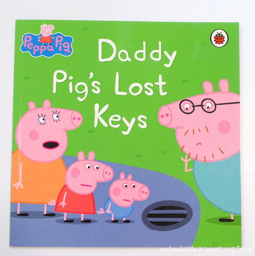 Peppa Pig: Daddy Pig's Lost Keys (Children's Picture Book)