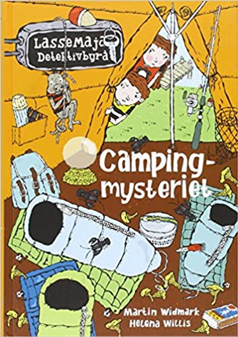 Widmark, Martin / Campingmysteriet (Hardback) ( Swedish Language Edition)