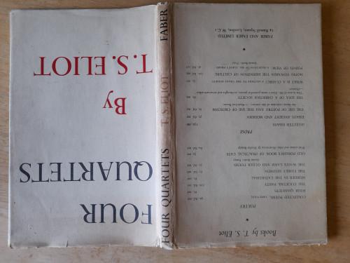 Eliot, T.S - Four Quartets - HB - Faber  Poetry  ( Reprint 1950 - originally  1944)