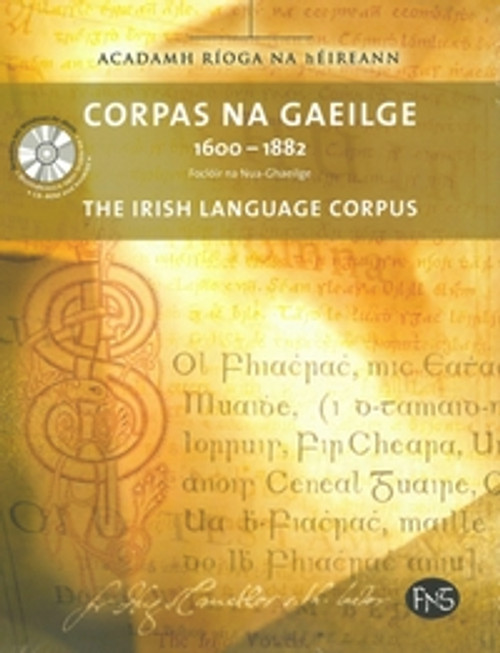 Ní Bheirn, Úna - Corpas na Gaeilge 1600-1882 RIA - Le Dlúthdhiosca / CD-ROM