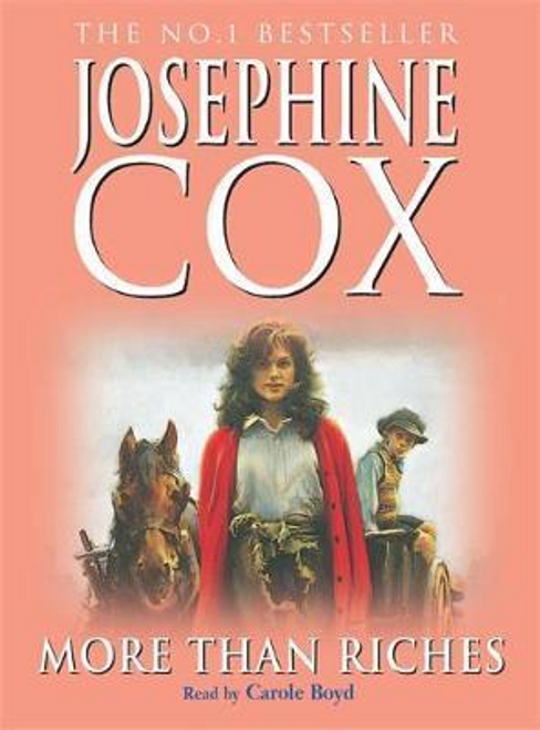 Cox, Josephine / More than Riches : Love, longing and rash decisions (Large Paperback)
