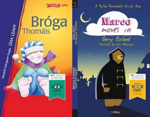 Boland, Gerry / Marco Moves In/Broga Thomais WBD 2012 Flipper BOOK