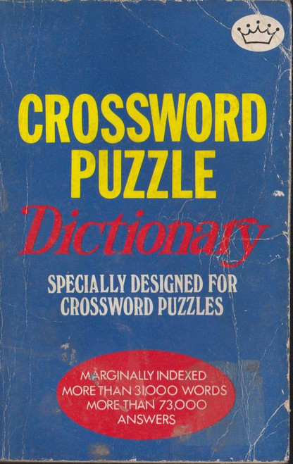 Crossword Puzzle Dictionary
