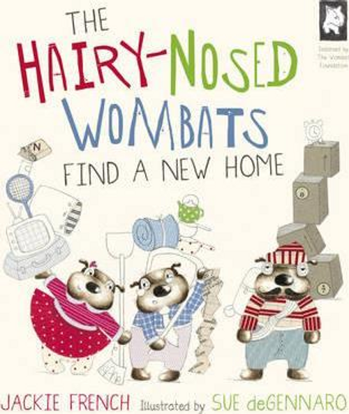 French, Jackie / The Hairy Nosed Wombats Find a New Home (Children's Picture Book)