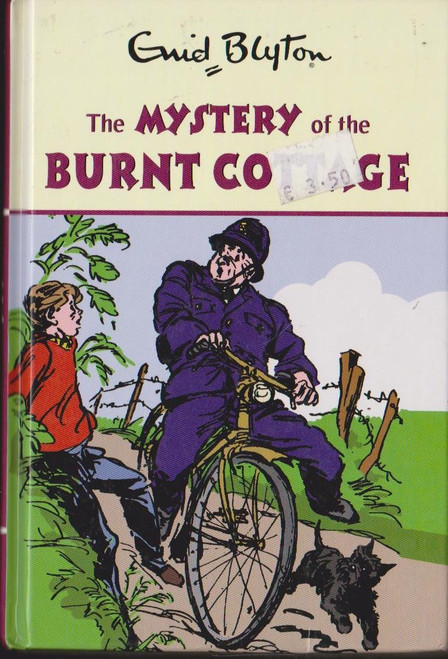 Blyton, Enid / The Mystery of the Burnt Cottage