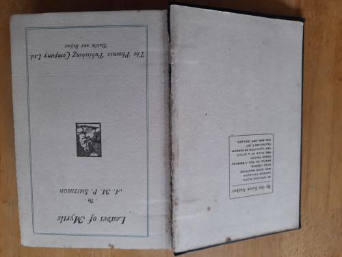Smithson, Annie M.P - Leaves of Myrtle - Vintage HB - Talbot Press ( Originally 1932)