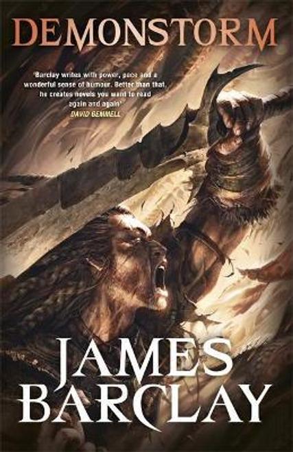 Barclay, James / Demonstorm : The Legends of the Raven 3