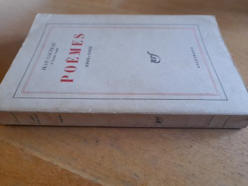 Cocteau, Jean - Poémes 1916-1955 - PB Gallimard -1963 ( Originally 1956)