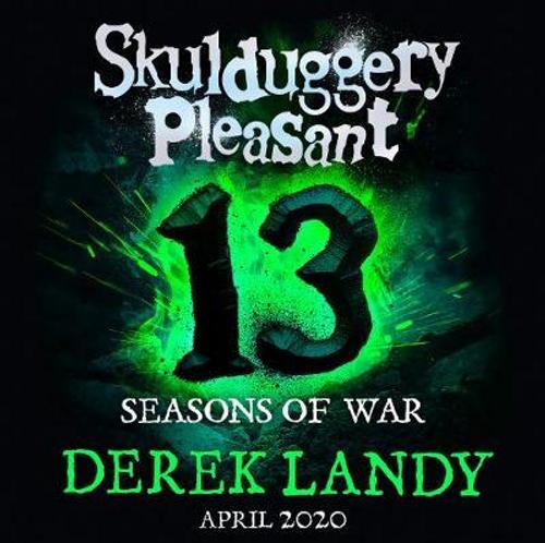 Landy, Derek / Skulduggery Pleasant: Seasons of War (Hardback)