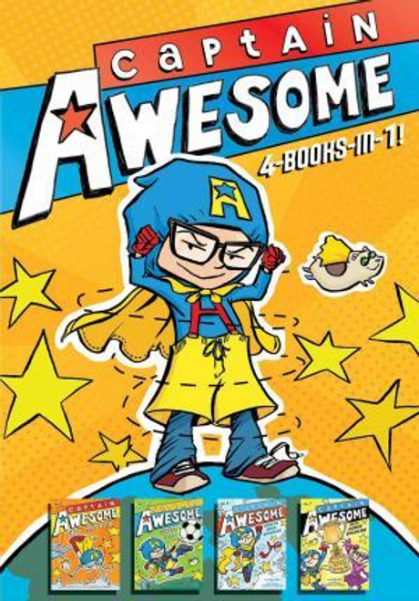 Kirby, Stan / Captain Awesome 4-Books-In-1 (Hardback)