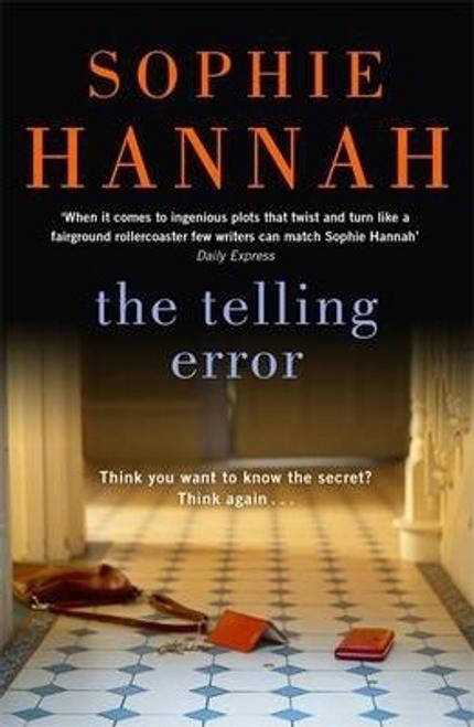 Hannah, Sophie / The Telling Error : Culver Valley Crime Book 9 (Hardback)