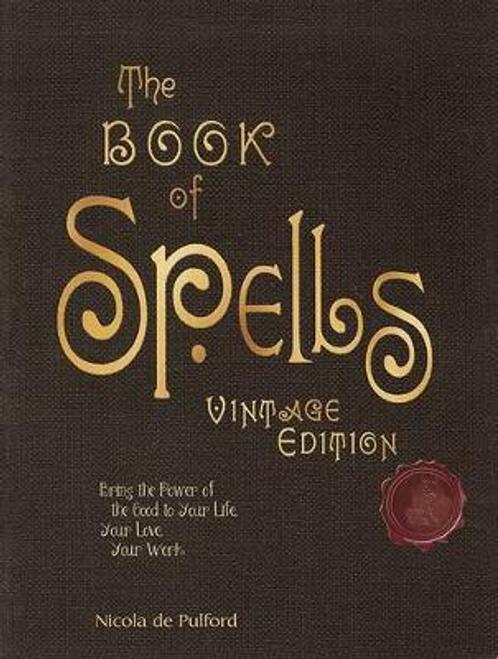 De Pulford, Nicola / The Book of Spells: Vintage Edition (Hardback)