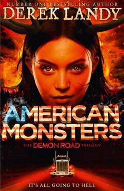 Landy, Derek / American Monsters (Large Paperback)