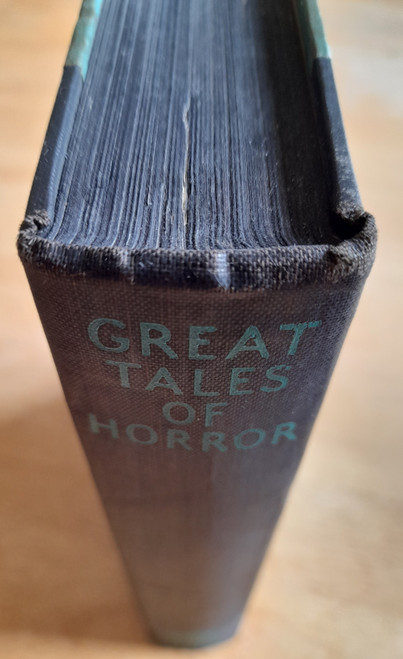 Bowen, Marjorie ( Editor) - Great Tales of Horror - HB - 1st UK Edition - 1933 - Rare Short Story Anthology