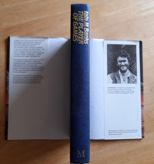 Banks, Iain M - The Player of Games - HB - Culture Series - 1988 - 2nd Printing