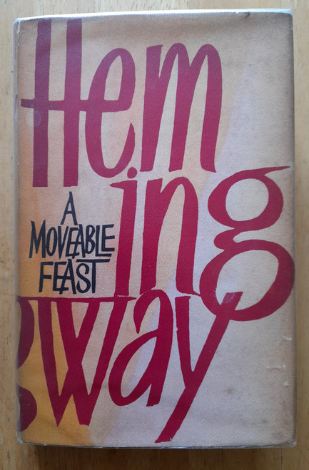 Hemingway, Ernest - A Moveable Feast - HB - UK 1st Edition in DJ, Jonathan Cape - 1964