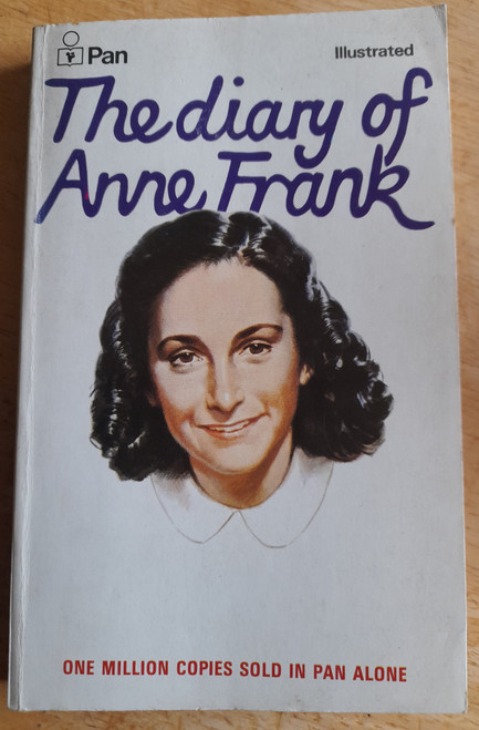Frank, Anne - The Diary Of Anne Frank - Vintage Pan illustrated Ed - 1974