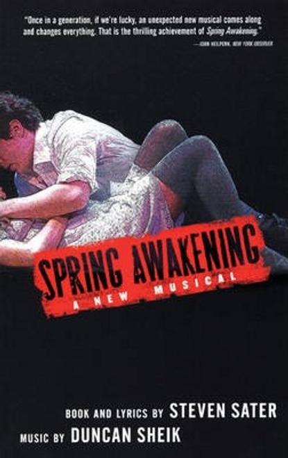 Sater, Steven / Spring Awakening (Large Paperback)