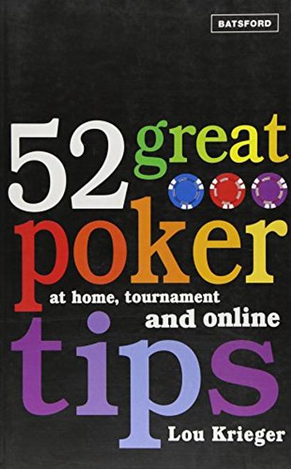 Krieger, Lou / 52 Great Poker Tips (Large Paperback)