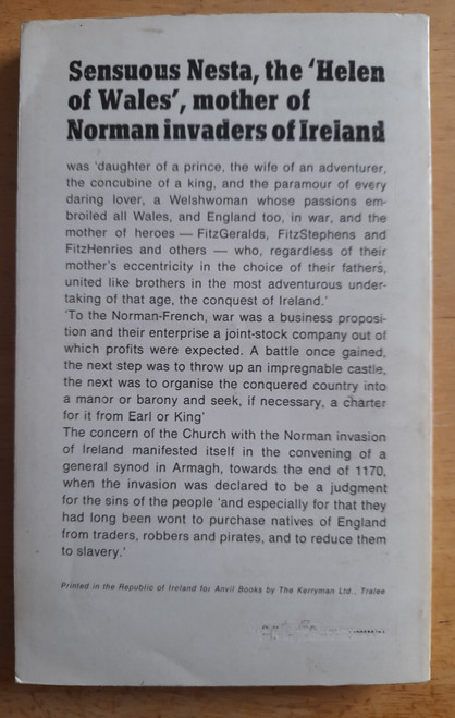 Roche, Richard - The Norman Invasion of Ireland - Vintage PB - 1970 - Anvil Press