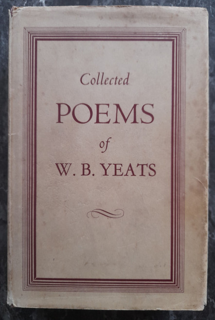 Yeats, W. B. - Collected Poems of W.B. Yeats - HB  - 1967