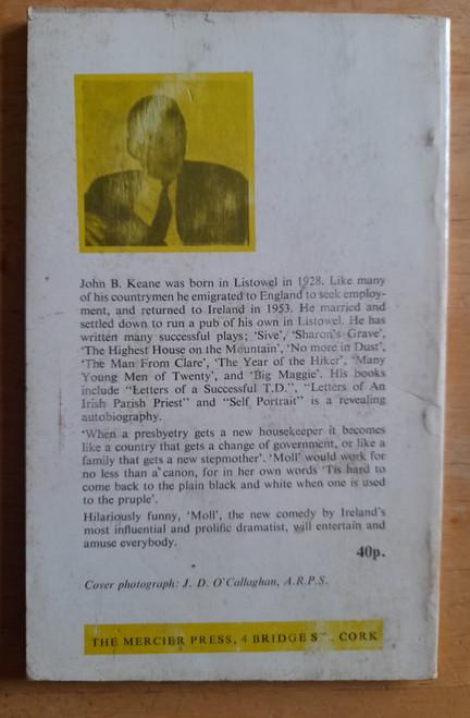 Keane, John B - Moll  ( A Comedy in Three Acts ) - PB 1ST Edition, MERCIER 1971