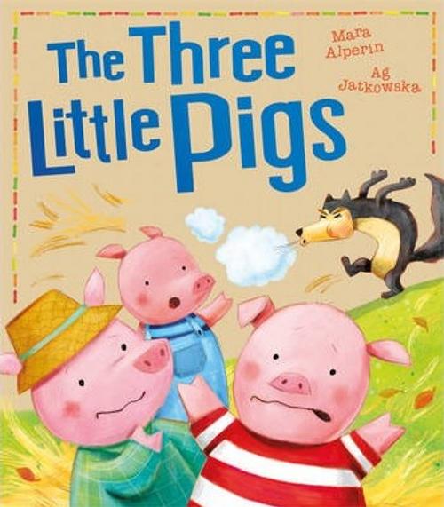 Alperin, Mara / The Three Little Pigs (Children's Picture Book)