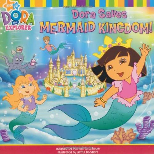 Dora Saves Mermaid Kingdom (Children's Picture Book)