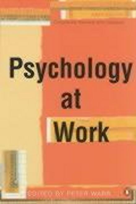 Warr, Peter / Psychology at Work