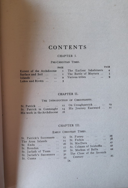D'Alton, - History of the Archdiocese of Tuam - HB - 2 Volume Set - 1928