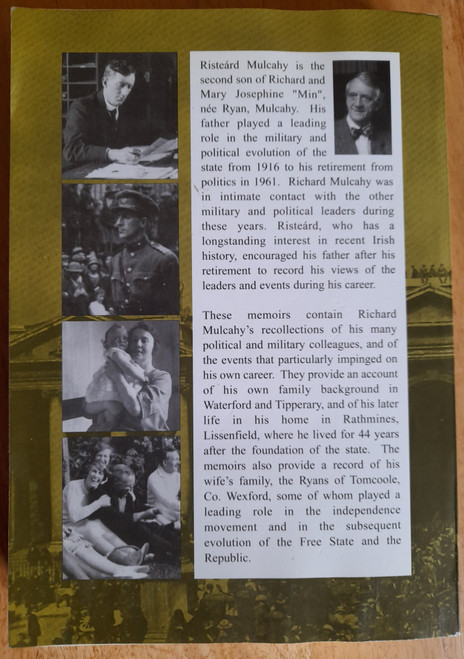 Mulcahy, Risteárd - Richard Mulcahy ( 1886-1971) : A Family memoir - SIGNED - PB - 1999