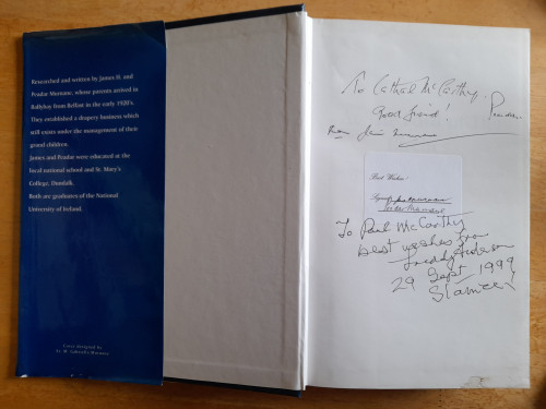 Murnane, James H & Peadar - At The Ford of The Birches : The History of Ballybay , It's People and Vicinity - HB - SIGNED - Monaghan - 1999