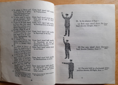 Great Southern Railways : Rule Book 1933 - Dublin  - HB