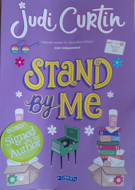 Curtin, Judi - Stand By Me - SIGNED TPB copy - 2017 ( Time after Time Series - Book 2 )