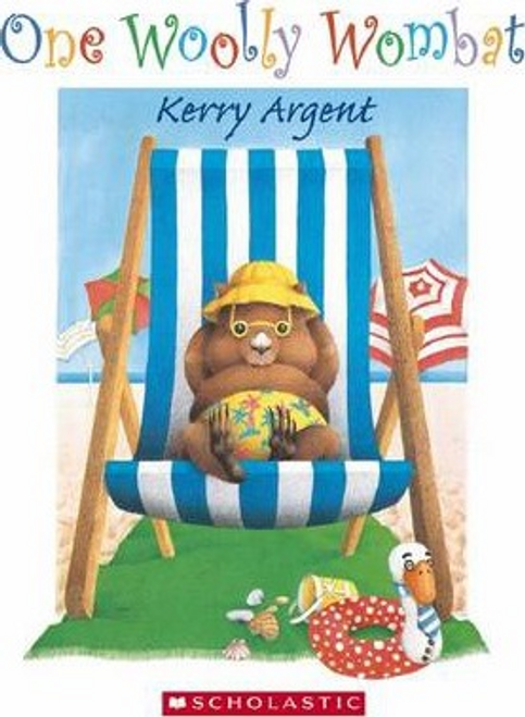 Argent, Kerry / One Woolly Wombat Board Book (Children's Picture Book)