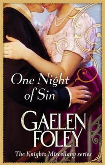 Foley, Gaelen / One Night Of Sin : Number 6 in series