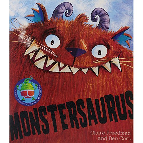 Freedman, Claire / Monstersaurus (Children's Picture Book)