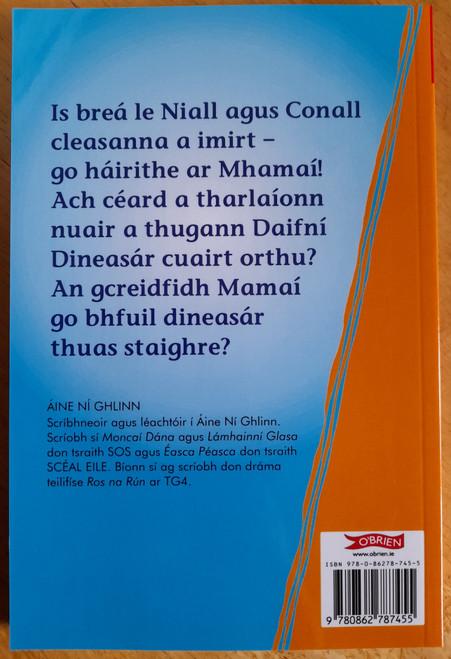 Ní Ghlinn, Áine - Daifní Dinesár - ( Sraith SOS  4 ) - As Gaeilge - O'Brien Press - BRAND NEW